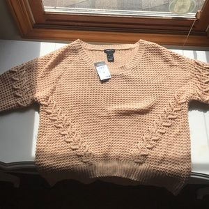 Rue 21 Tan Knitted Sweater